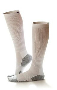 Dr Comfort 15-20 mmHg Compression Knee Diabetic Socks Supports Shape to Fit Legs
