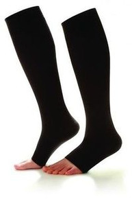Dr Comfort Knee Socks Supports 20-30 mmhg Compression Wear Open Toe Shape to Fit