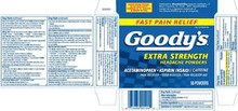 GOODYS HEADACHE POWDER X/STR 50CT