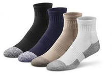 Dr Comfort Diabetic Crew Length Socks Supports Shape to Fit Seamless Unisex