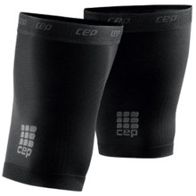 CEP Thigh Quad Compression Sleeves Unisex Black or White One Pair