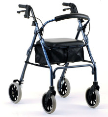 "Nova Zoom Walker 22"" Rollator 4222 BLUE"