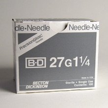 BD Needle Only - Precision Glide 27 Gauge