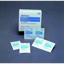 Kendall Curity Alcohol Prep Pads (#5750) - Sterile - Box of 200