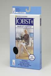 Jobst Opaque Stockings Knee High Closed Toe 15 - 20 mmHg
