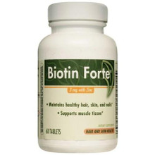 BIOTIN FORTE 3MG TABLET 60CT SCHWABE