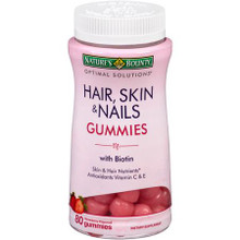 OPTIMAL SOLUTION HAIR SKIN NAIL GUMMY 80CT