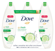 Dove Body Wash, Go fresh Cool Moisture, Cucumber & Green Tea Scent 22 Ounce