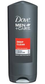 DOVE MEN BODY WASH DEEP CLEAN 13.5 OZ