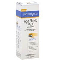 Neutrogena Age Shield Face Sunblock Spf 70 - 3 oz
