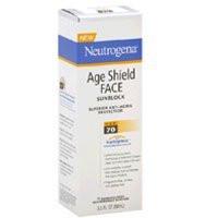 Neutrogena Age Shield Face Sunblock Spf 70 - 3 oz