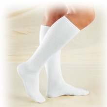 TRUFORM 1913 TruSoft Sock Diabetic Knee Length  8-15mmHg