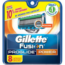Gillette Fusion ProGlide Power Razor Blades - 8ct pack SALE SPECIAL