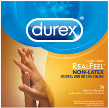 Durex Real Feel Avanti Bare Polyisoprene Condoms, Non-latex - 3 ea