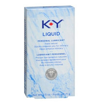 K-Y Personal Lubricant Pure and Gentle Liquid - 2.5 oz