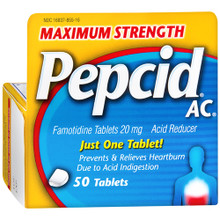 Pepcid Max Tablet Original 50ct