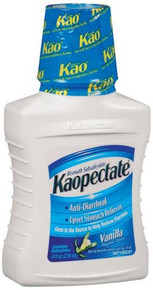 Kaopectate Anti-Diarrheal Upset Stomach Reliever Liquid, Vanilla Regular - 8 Oz