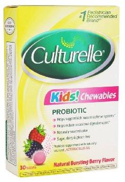 Culturelle kids probiotic chewable tablets - 30 ea