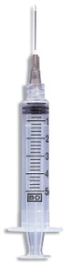 """BD 5ml Syringe Luer-Lok Tip with BD PrecisionGlide Needle 21g x 1.5"""" (309633)"""