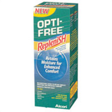 Opti-Free replenish solution for contact lenses - 4 oz