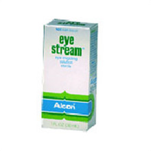 Alcon eye stream irrigating eye rinse solution - 1 oz