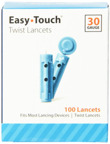 Easy Touch Lancet 30g Twist 100ct