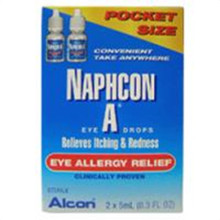 Alcon Naphcon A Eye Drops Eye Allergy Relief of Redness and Itching 2 X 5 mL