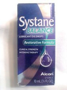 Systane Balance Dry Eye Drop 2x10ml