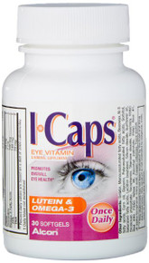 Icaps Lutein Omega-3 Softgel 30ct