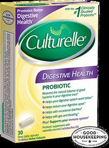 CULTURELLE CAPSULE DIGESTIVE HEALTH 30CT