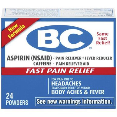 Bc Arthritis Powder 24ct
