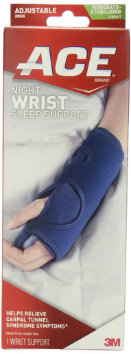 ACE Night Wrist Sleep Support 1 ct, Helps relieve carpal tunnel symptoms