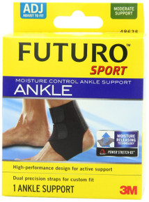FUTURO ANKLE SUPPORT MOIST CONTROL ADJ