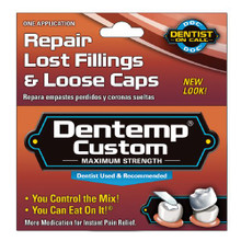 Dentemp Custom Maximum Strength Temporary Cavity Filling Mix