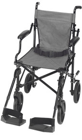 Folding Transport Chair with Carrying Tote