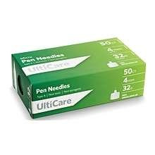 Ulticare Micro Pen Needles 4mm 32g
