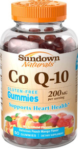 Sundown Coq-10 200mg Gummies 50ct