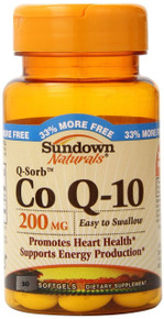 Sundown Coq10 200mg Gelcap 30ct