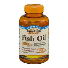 Sundown Fish Oil 1000mg Sfc 144ct