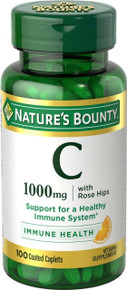 Nature Bounty Vit C 1000mg Rosehp Tab 100ct