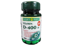 Nature Bounty Vit D 400iu Tablet 100ct