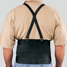 TRUFORM C-205S Industrial Belt Back support heavy lifting with Shoulder Straps