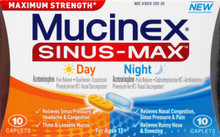 Mucinex Sinus-Max Day - Night Liquid Gels 24 ea