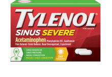 TYLENOL Sinus Congestion + Pain Severe Caplets Daytime Non-Drowsy 24 Caplets