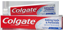 Colgate Baking Soda and Peroxide Whitening Bubbles - Brisk Mint paste 6 oz