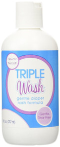 Triple Paste Gentle Wash Diaper Rash Formula - 8 oz