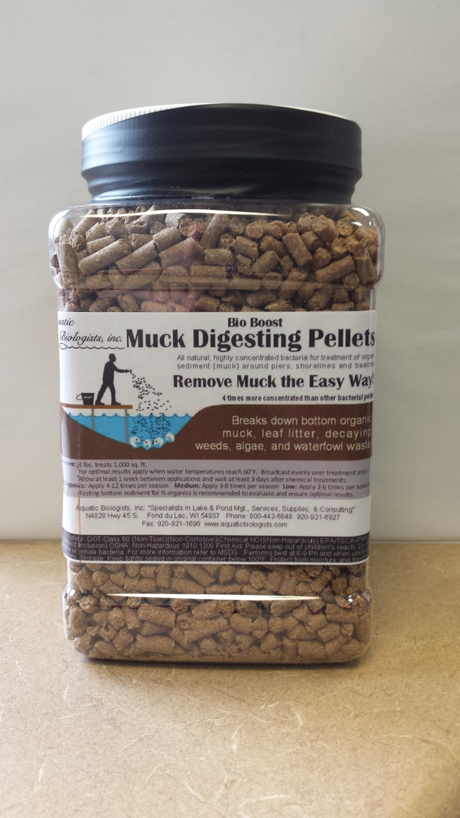 2 Pound Container Bio Boost - Muck Digesting Bacteria Pellets