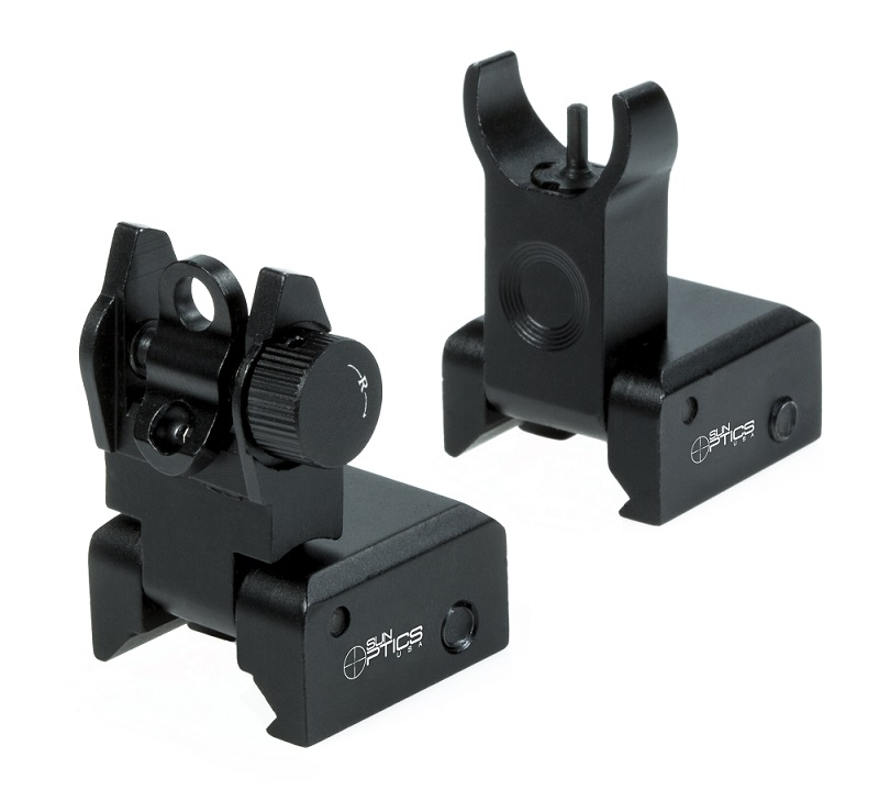 Low Profile AR Flip Up Sights
