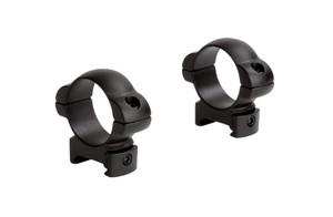 "Steel Sport Rings Standard Weaver Type - 1"" - Med - SM114"