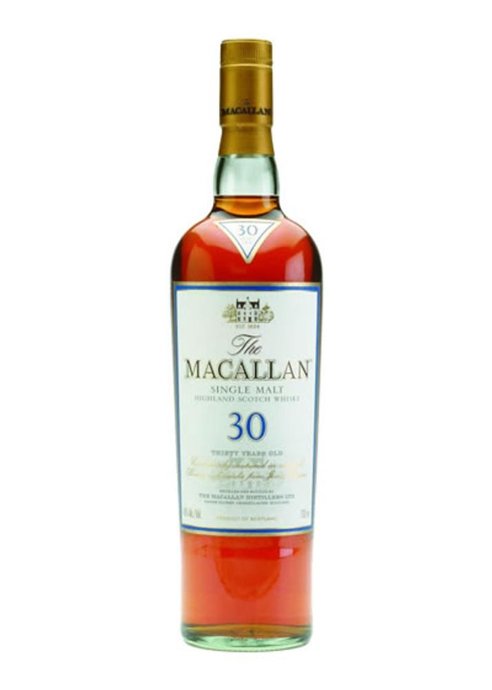 Macallan 30 Years Old